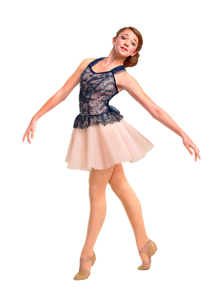 R297 Cherished Forever - Contemporary, Online Dance Costumes