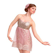 R339 Beautiful in My Eyes - Contemporary, Online Dance Costumes