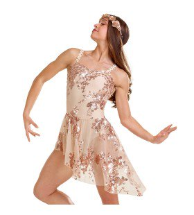 R497 Free Spirit - Contemporary, Online Dance Costumes