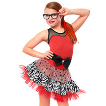 E1430 Turn It Up - Jazz, Tap & Hip Hop, Online Dance Costumes