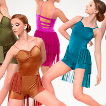P373 Cold Breeze - MAGENTA - Contemporary, Online Dance Costumes