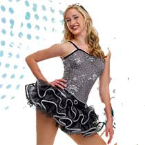 J4569 City Lights - Jazz, Tap & Hip Hop, Online Dance Costumes