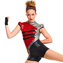 J4875 Beat The Drum - Jazz, Tap & Hip Hop, Online Dance Costumes