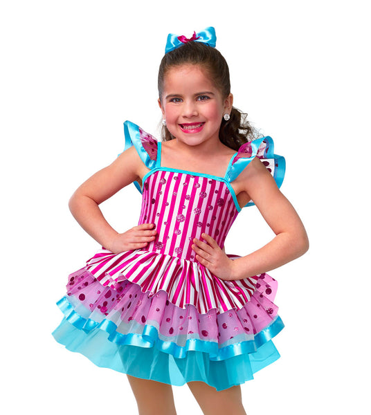 E1116 Factory of Sweets - Jazz, Tap & Hip Hop, Online Dance Costumes