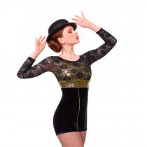 J4949 Sentimental Mood - Jazz, Tap & Hip Hop, Online Dance Costumes