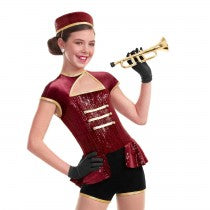 E1115 At Your Service - Character, Online Dance Costumes