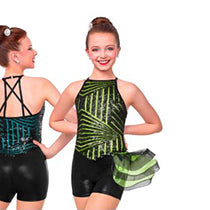 J4955 Sophisticated Lady - Jazz, Tap & Hip Hop, Online Dance Costumes