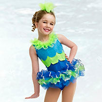 E506 Under The Sea - Tutu Cute, Online Dance Costumes