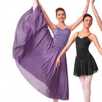 C168 Long Dance Dress - Contemporary, Online Dance Costumes