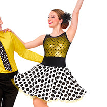 E1398 Stompin' - Jazz, Tap & Hip Hop, Online Dance Costumes