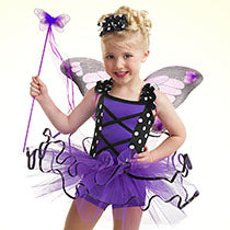 E722 Monarch Butterfly - Jazz, Tap & Hip Hop, Online Dance Costumes