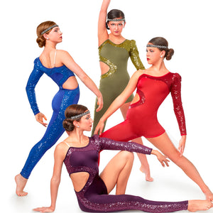 J4976 By My Side - ROYAL BLUE ONLY - Jazz, Tap & Hip Hop, Online Dance Costumes