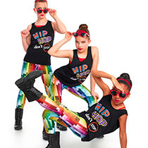 E1436 Don't Stop - Jazz, Tap & Hip Hop, Online Dance Costumes