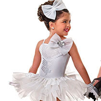 E947 Me and My Shadow (WHT/CSM BLK/CME) - Tutu Cute, Online Dance Costumes