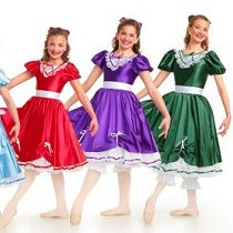 E1756 Party Dress - Character, Online Dance Costumes