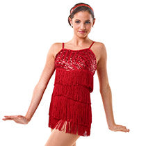 E1410 Swing and Groove It (Black/AME Red/CME) - Jazz, Tap & Hip Hop, Online Dance Costumes