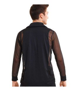 B5226 Latin Shirt - Guys, Online Dance Costumes