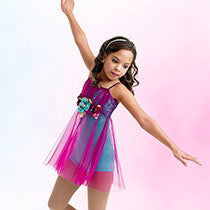 E646 Dew Drops - Contemporary, Online Dance Costumes