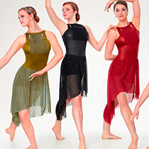 P379 IGNITES - Black - Contemporary, Online Dance Costumes