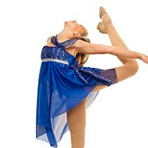 E115 Moment in Love - Contemporary, Online Dance Costumes
