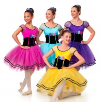 E1209 Villager (Purple Only) - Ballet, Online Dance Costumes