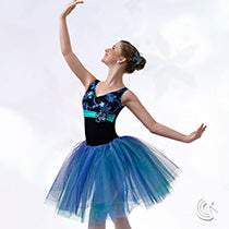 E672 Glimmer of the Night - Ballet, Online Dance Costumes