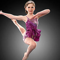 E783 Metallic Dazzle - Contemporary, Online Dance Costumes