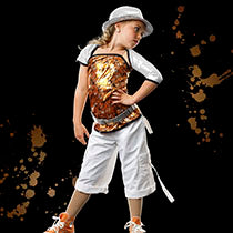 E743 Say What - Jazz, Tap & Hip Hop, Online Dance Costumes