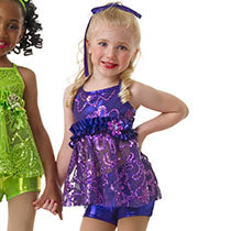 E694 Don't Stop the Music - Jazz, Tap & Hip Hop, Online Dance Costumes