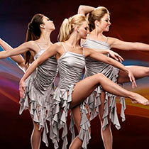 P3266 Swirly - Contemporary, Online Dance Costumes