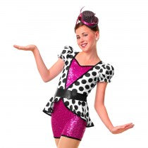 E1232 Glam Session - Jazz, Tap & Hip Hop, Online Dance Costumes