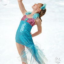 E488 Miss Mermaid - Character, Online Dance Costumes