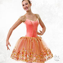 E637 Flowers in the Mist - Ballet, Online Dance Costumes