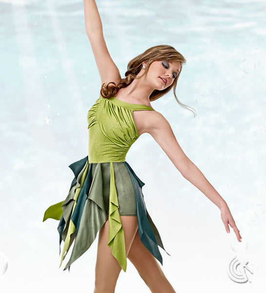 R871 Sea Breeze - Contemporary, Online Dance Costumes
