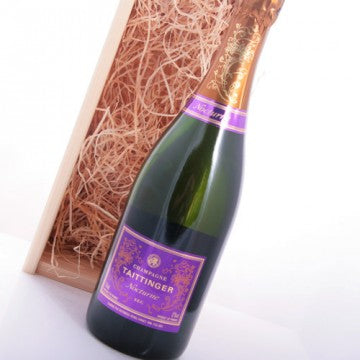 Champagnegeschenk Taittinger Champagne Nocturne Sec