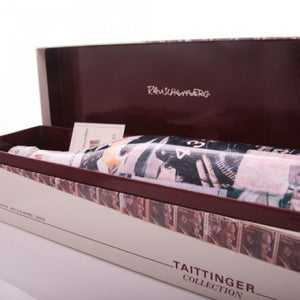 Taittinger Collection by Rauschenberg - Wijnbox - wijn - wijn bezorgen