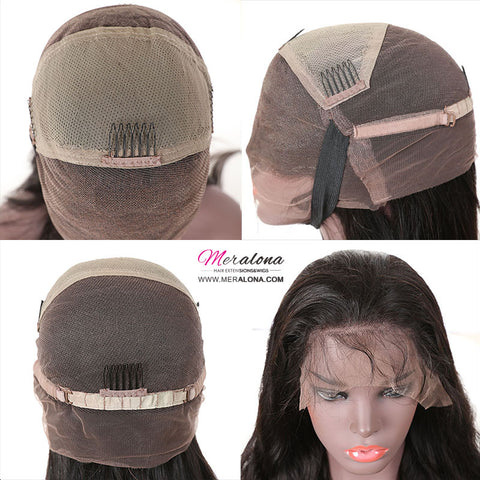 Full Lace Wig Kira Africa style Pre-plucked kinky curly  Brazilian Virgin Remy Hair