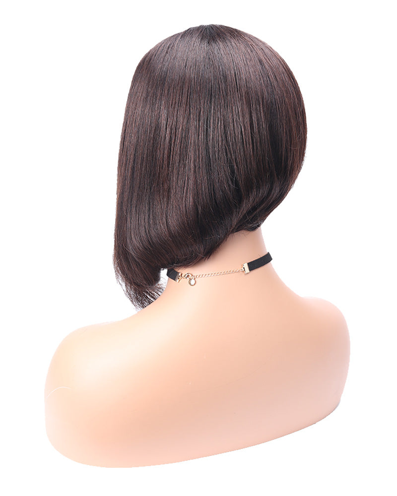 Alysa long and sleek straight bob wig