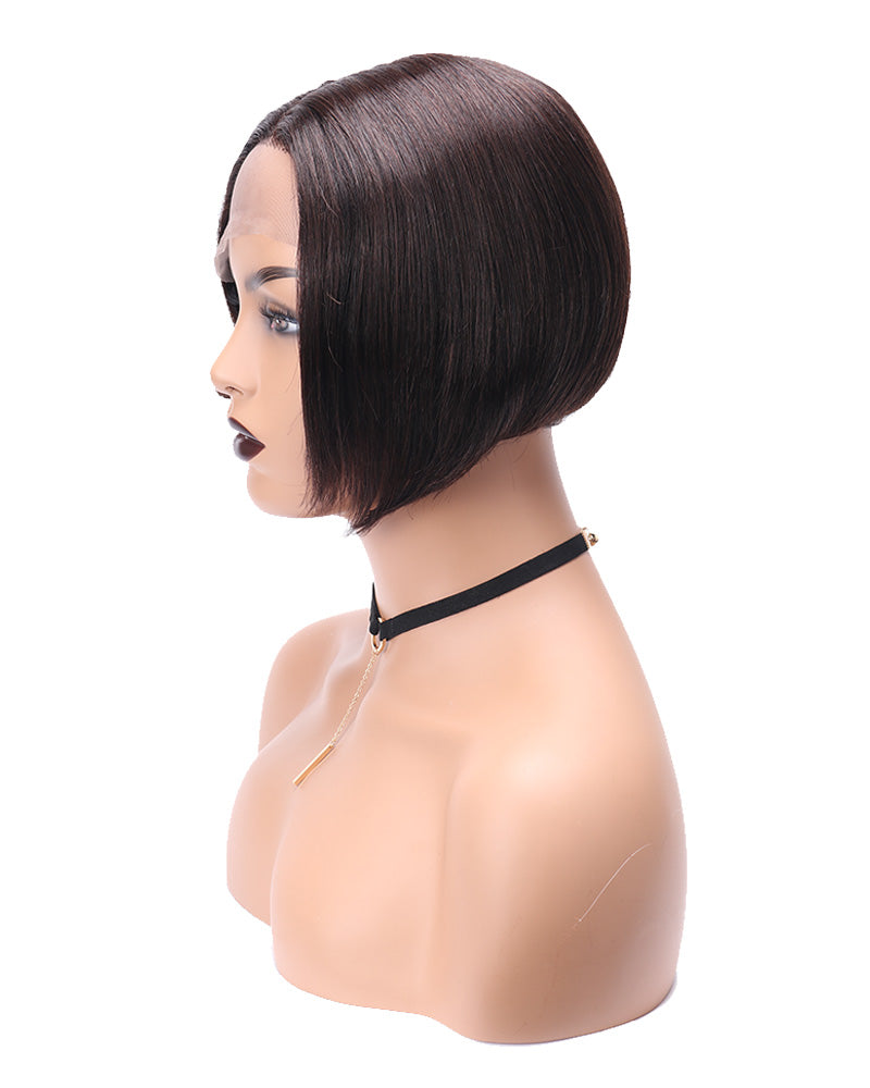 Cherise bob cut virgin human hair wig