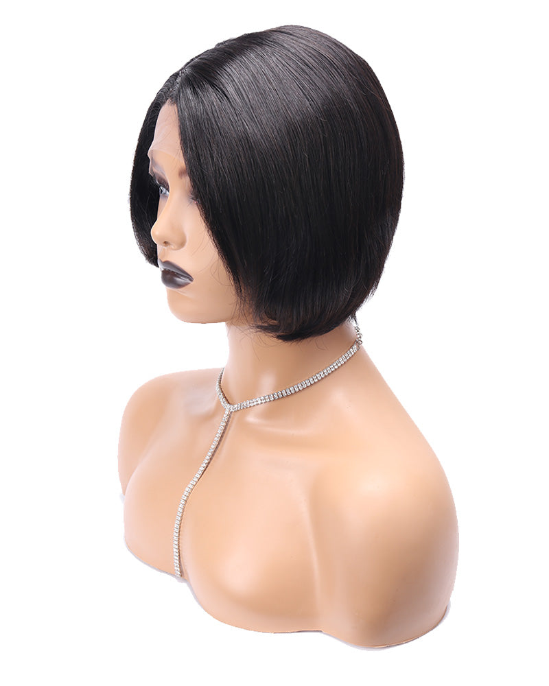 Claire short pixie bob straight wig