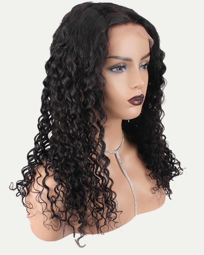 Helen Deep Wave Natural Color Lace frontal Wig