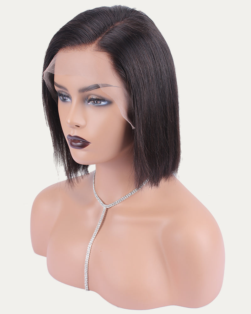 Lark Short Bob Wig Virgin human hair Lace Front Wig