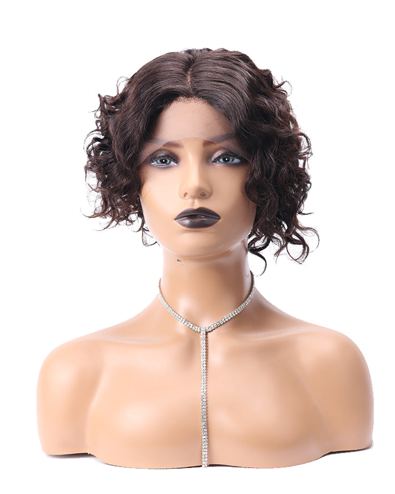 Maren jerry curly human hair wig