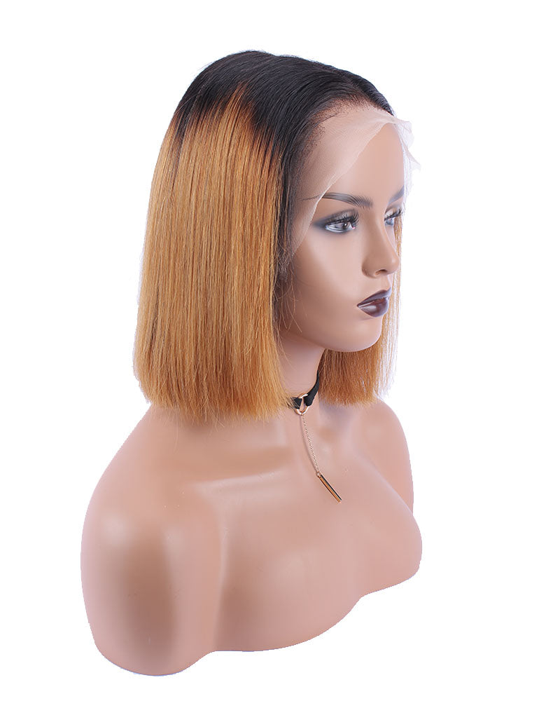Posy Ombre Short Bob Selected Virgin Human Hair Wig