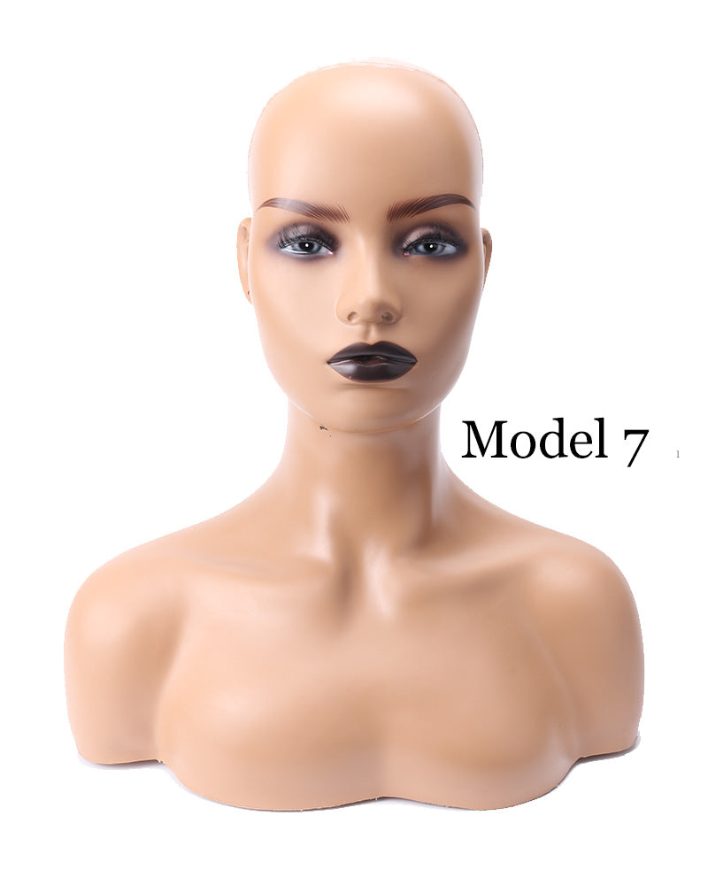 Training Head Mannequin Head Display Wigs Model