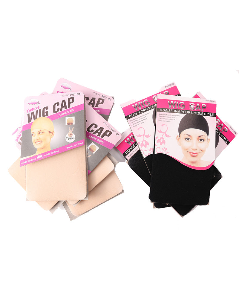 Wig Stocking Cap For Women Elastic Liner Mesh Cap