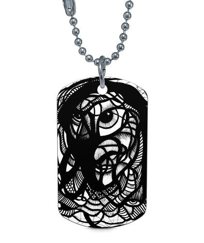 IAM Man Dog Tag Dog Tag