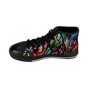 Jungle: Men's High-top Canvas Sneakers