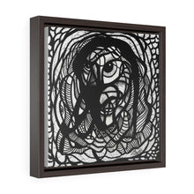 Load image into Gallery viewer, IAM Man - Square Framed Premium Gallery Wrap Canvas