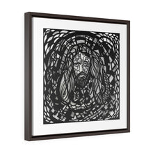 Load image into Gallery viewer, Jesus Christ Pose: Square Framed Premium Gallery Wrap Canvas